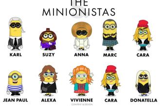 minionista film minions fashion mode illustrations 1 331x219 - Les Personnages des Minions en Célébrités de la Mode