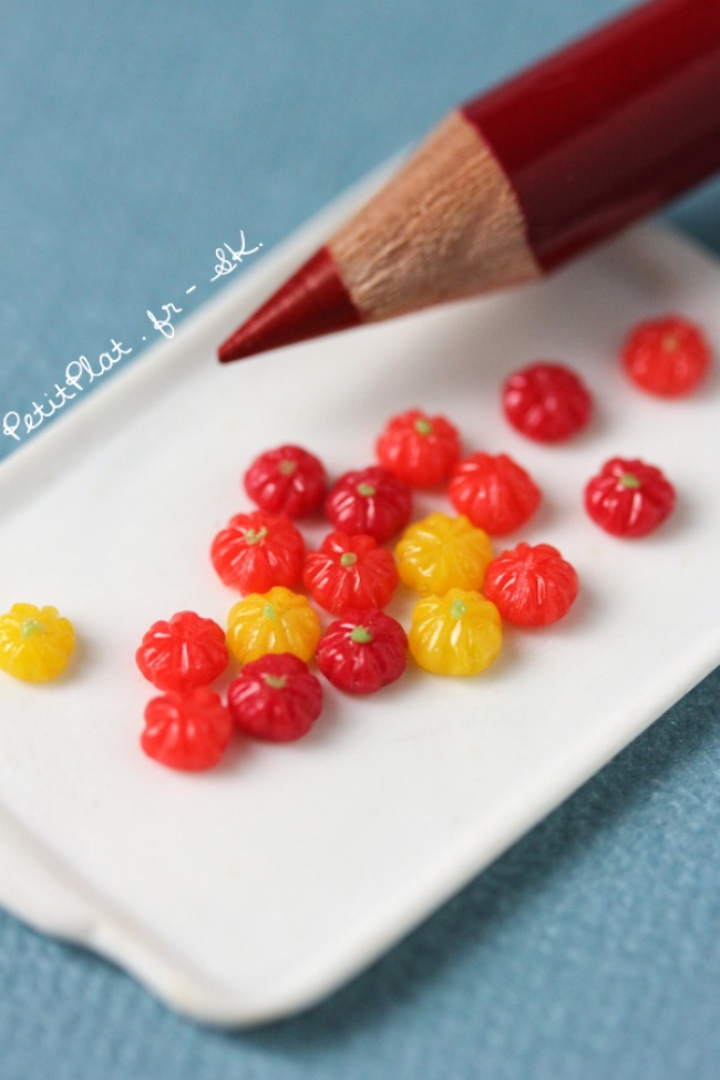 , Ces Savoureuses Sculptures Miniatures de Fruits et Légumes Mettent en Appetit