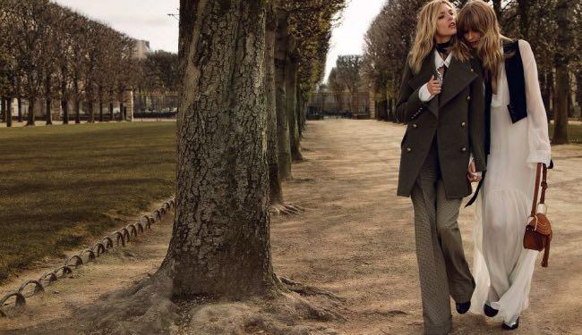 , Chloe s'offre une Visite entre Copines au Jardin du Luxembourg cet Hiver 2015