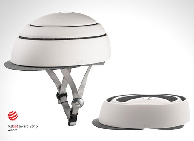 closca fuga casque velo design compact 2 - Ce Casque de Vélo Compact et Élégant ne va Plus vous Quitter (video)