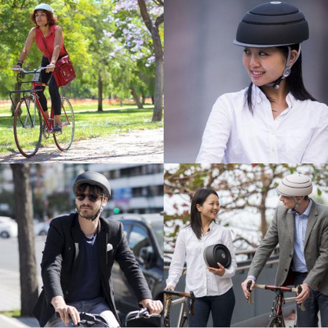 closca fuga casque velo design compact 6 - Ce Casque de Vélo Compact et Élégant ne va Plus vous Quitter (video)
