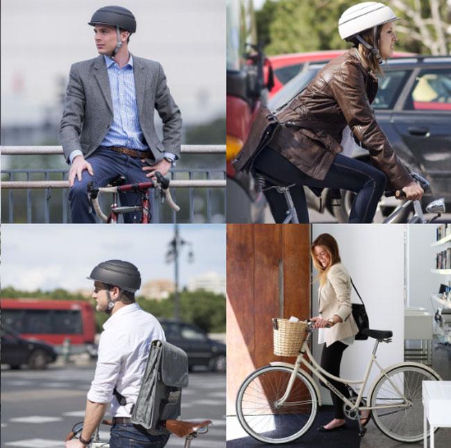 closca fuga casque velo design compact 7 - Ce Casque de Vélo Compact et Élégant ne va Plus vous Quitter (video)