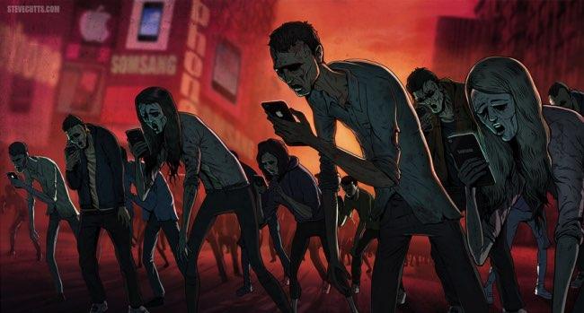 , Illustrations Satiriques d'une Société Malade et Connectée (video)