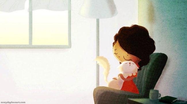 , Ces Petits Bonheurs qui Rendent la Vie encore plus Belle (Illustrations)