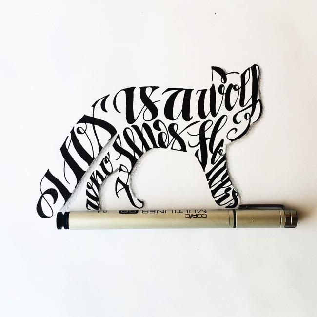 , Des Animaux et des Mots en Typographie Inspirée