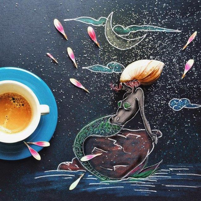 , Petits Dejeuners Creatifs d'une Illustratrice Reveuse
