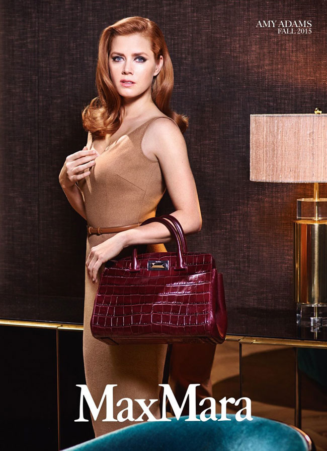 , Max Mara Hiver 2015, Campagne Hitchcockienne pour Amy Adams