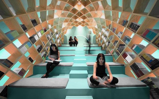 , Cette Structure en Dome Invite à Redécouvrir le Plaisir de Lire