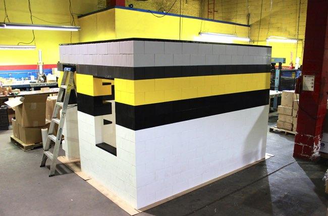 ever block systems briques lego mobilier kit, Changer le Mobilier et la Déco avec ces Géantes Briques Lego