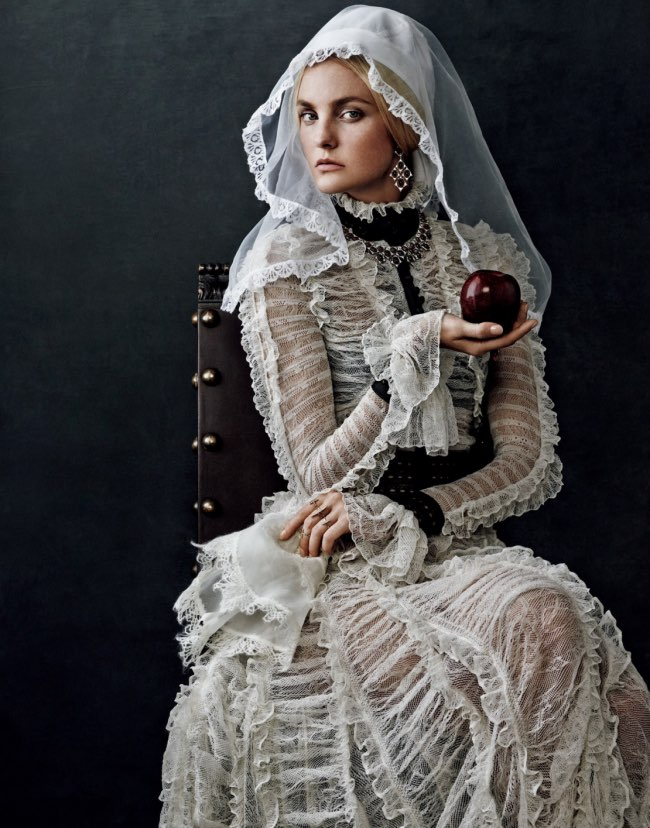, Sublimes Photos de Mode Inspirées par les Peintres de la Renaissance