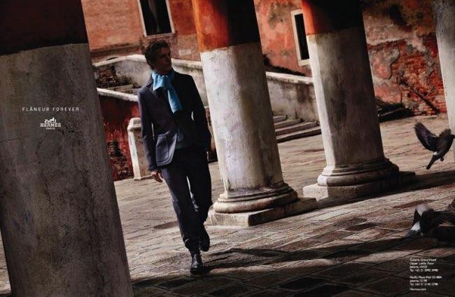 , Cet Hiver Hermes nous Invite à une Douce Flânerie en Italie