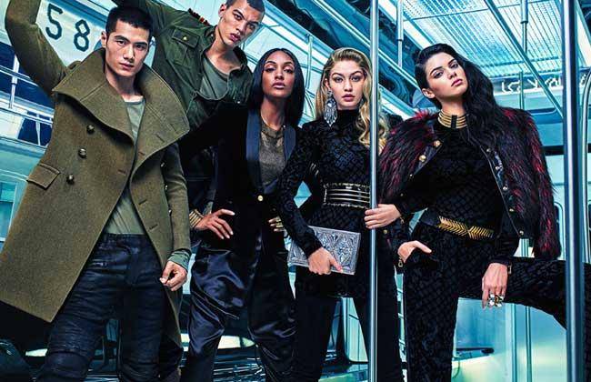 , La Collection Balmain x H&M en Campagne