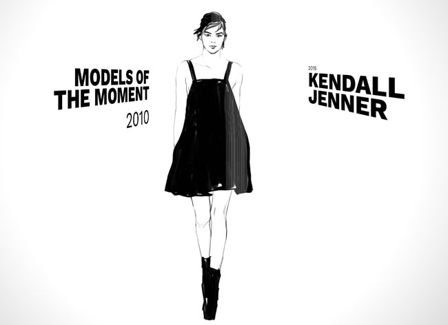 , A Chaque Epoque son Top Modele en Retrospective Illustrée