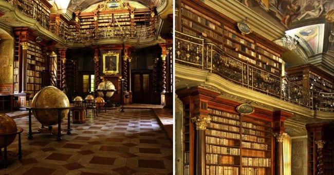 klementinum prague bibliotheque baroque 1 - Klementinum, la plus Baroque des Bibliothèques au Monde est à Prague