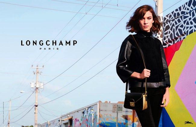 , Longchamp s'Offre une Rentrée 2015 Graphique et Colorée à Miami