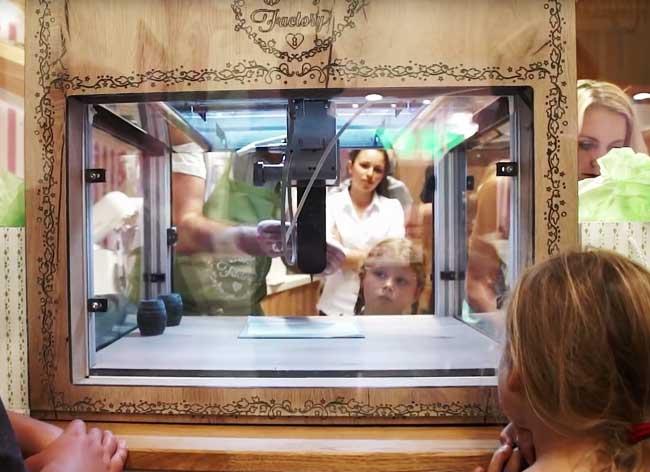 , Cette Confiserie Imprime en 3D vos Bonbons Bio (video)