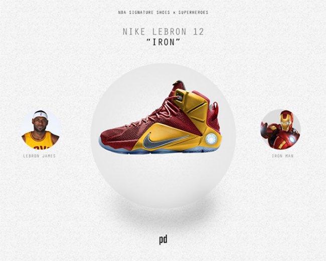 patso dimitrov baskets nike adidas super heros 2 - Les Mythiques Baskets Adidas et Nike pour Super Héros