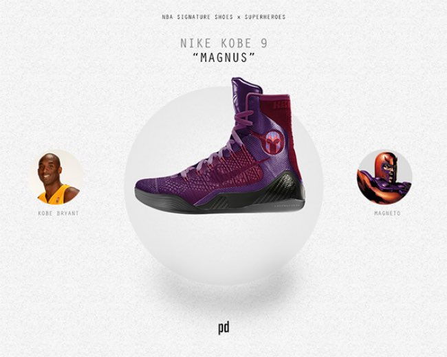 patso dimitrov baskets nike adidas super heros 5 - Les Mythiques Baskets Adidas et Nike pour Super Héros