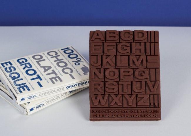 , En Guise de CV, Il Fabrique en 3D des Tablettes de Chocolat