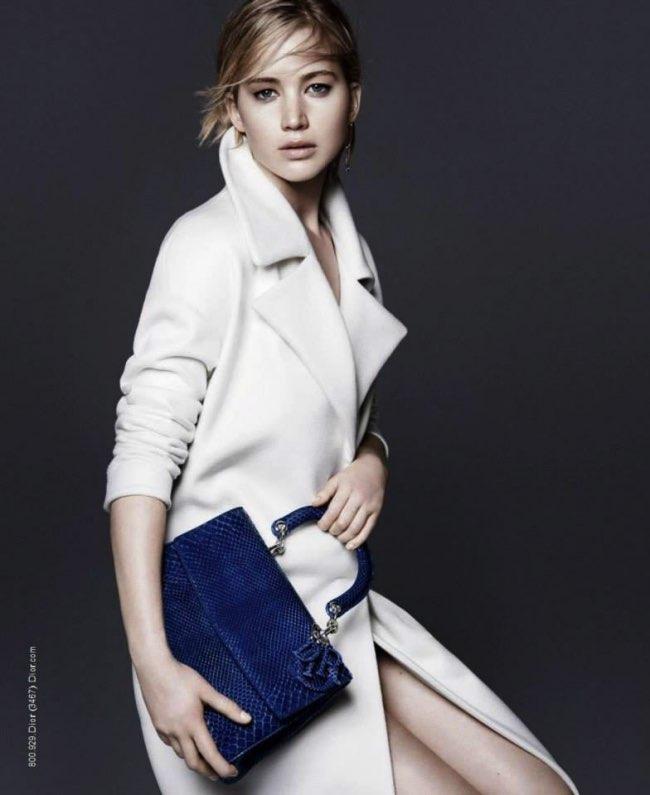 , L'Egérie Be Dior de cet Hiver est encore Jennifer Lawrence