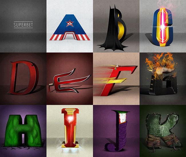 , Les Super Héros et les Vilains ont enfin leur Alphabet