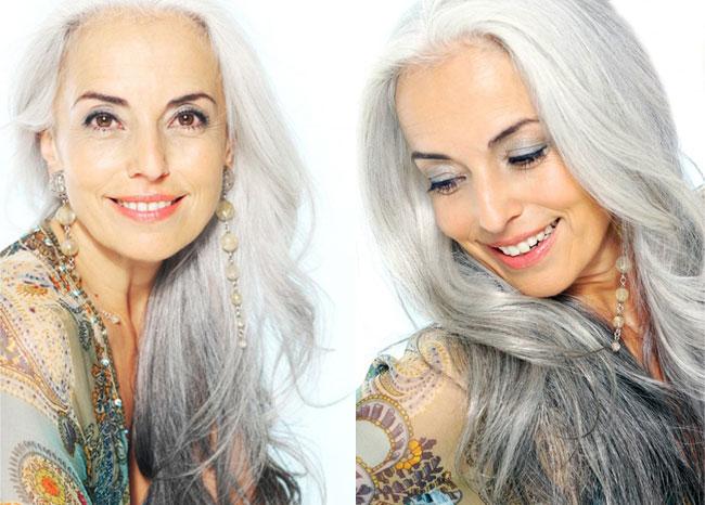 yasmina rossi top modele senior corse 7 - A 60 ans cette Top Modele en Fait 30 car elle Mange Bio