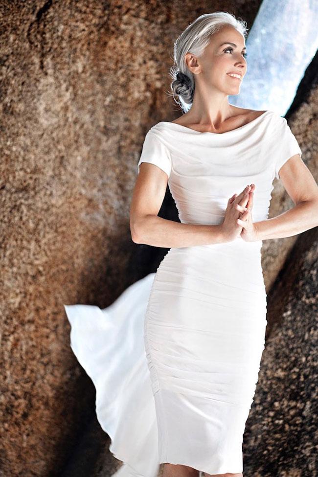 yasmina rossi top modele senior corse 8 - A 60 ans cette Top Modele en Fait 30 car elle Mange Bio