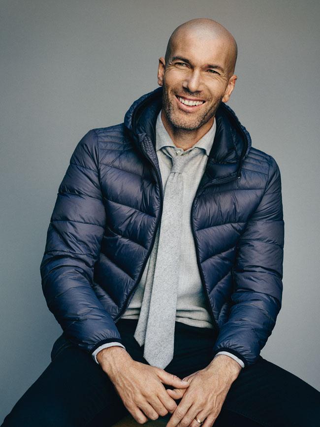, Zinédine Zidane au Top chez Mango Homme Hiver 2015 (video)