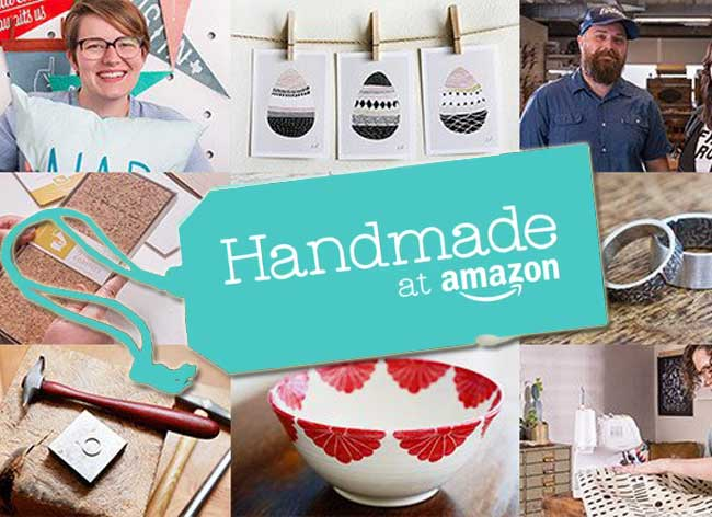 amazon handmade etsy alternative marketplace 1 - Un Marketplace Amazon pour le Fait Main et l'Artisanat (video)