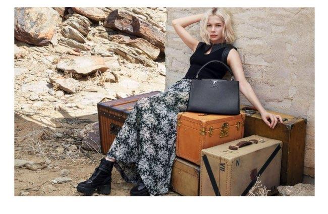 , L'Esprit du Voyage dans le Désert pour Louis Vuitton Hiver 2015