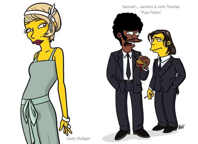 , Les Célébrités de la Pop Culture 'Simpsonisées' Juste pour Rire