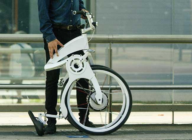 , FlyBike, Révolutionnaire Vélo Pliable, Électrique et Connecté (video)