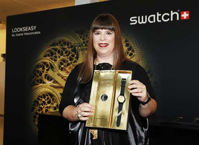 , Montre Swatch Lookseasy au Mécanisme en Dentelle par Joana Vasconcelos