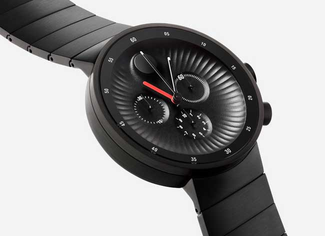 , Movado Edge, la Montre Analogique signée Yves Behar (video)