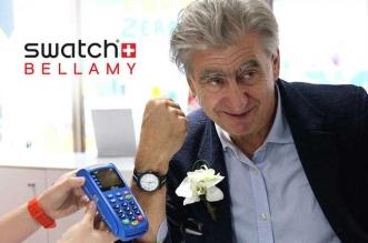 montre swatch bellamy nfc 1 331x219 - Montre Bellamy Swatch pour Regler vos Achats Compulsifs (video)