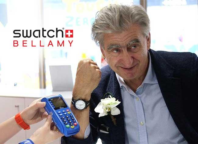 , Montre Bellamy Swatch pour Regler vos Achats Compulsifs (video)