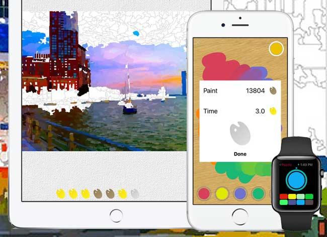 , Avec vos Photos Creer votre Album de Coloriage sur iPad (video)