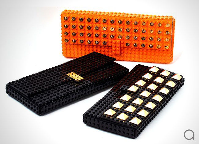 , Des LEGO en Or pour de Tres Chics Accessoires de Mode