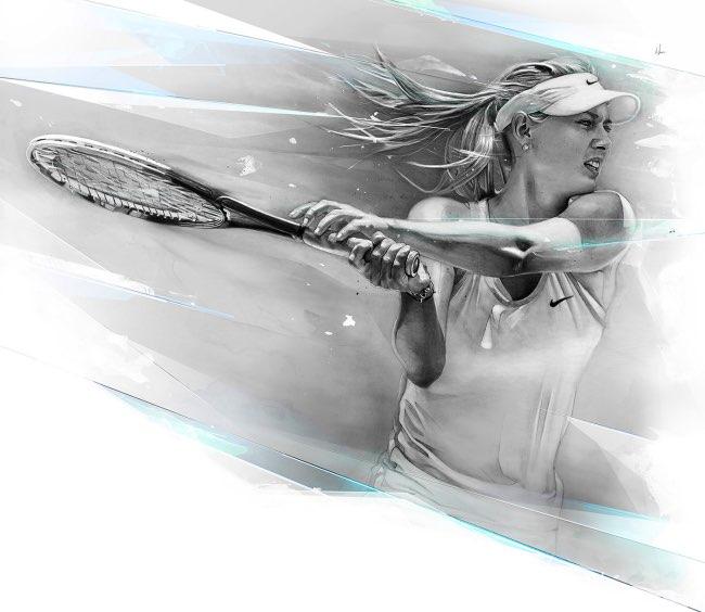 , Le QG de Nike 4D s'offre d'Artistiques Illustrations au Crayon