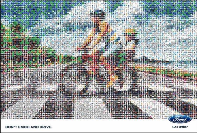 , Les Textos et Emojis Troublent votre Vision de la Route (vidéo)