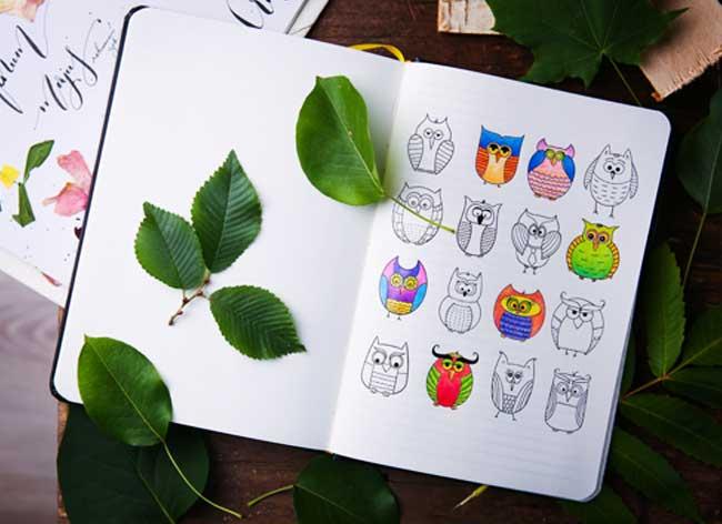 carnet notes coloriage coloring notebook 1 - Le Carnet de Notes à Colorier pour Booster votre Creativité