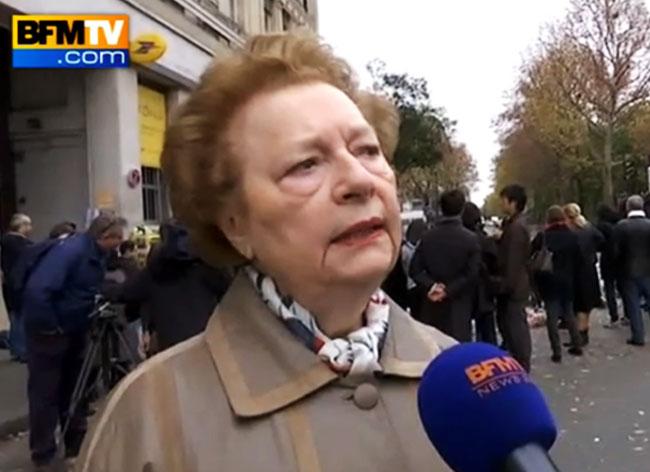 , Cette Mamie Parisienne Conjugue avec Amour Liberté Egalité Fraternité (video)