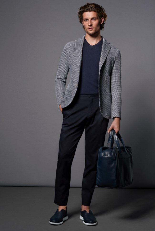 , Un Ete 2016 en Gris et Bleu pour Giorgio Armani Homme