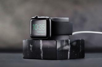 marble dock montre apple watch marbre 2 331x219 - La Montre Apple Watch a sa Station d'Accueil en Marbre