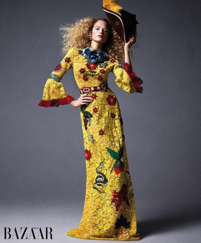 , Pirates et Princesses de la Mode Envahissent le Harpers Bazaar