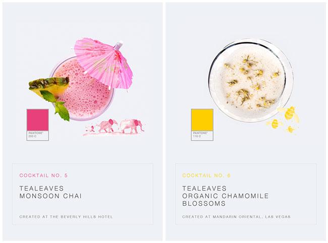 , Tealeaves x Pantone, la Selection de Thé Bio Inspirante