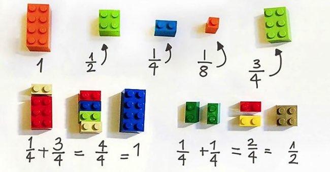 , Apprendre les Maths avec des Lego c'est plus Facile et Amusant !