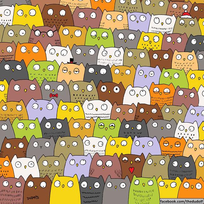 , A Vous de Retrouver un Panda et un Chat dans ces 2 Adorables Illustrations !