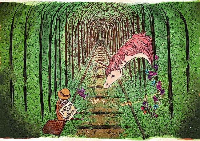 , A la Recherche du Bonheur Va-t'Il Finir par le Trouver ? (Illustrations)