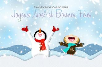 maxitendance joyeux noel bonnes fetes 331x219 - Joyeux Noël et Bonnes Fêtes à Toutes et à Tous ! (video)